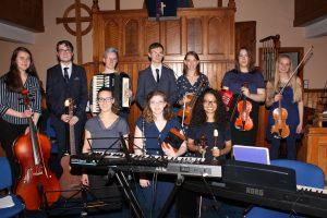 Elphinstone Fiddlers at Findhorn Church